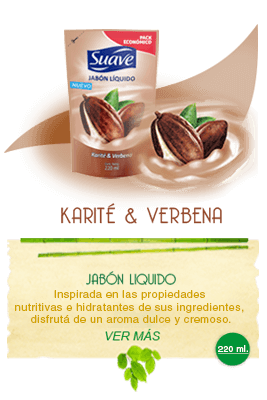 Jabón liquido Karité & Verbena | Suave