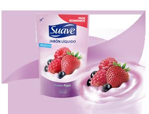 jabón líquido frutos rojos