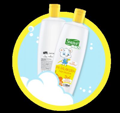 Shampoo, Acondicionador y Jabón Líquido con ph balanceado